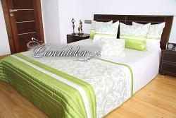 Přehoz na postel světle zelený 33C