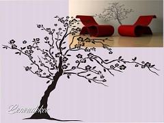 Šablona na malování  S-Tree 01  200x140cm-skladem