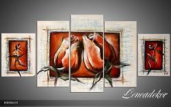 Obraz jako malovaný 5D růže R000462R