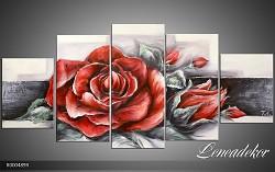 Obraz jako malovaný 5D růže R000489R