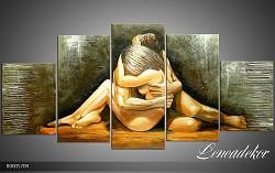 Obraz jako malovaný 5D Něžné obětí R000570R