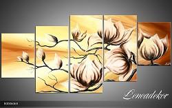 Obraz jako malovaný 5D Květy R000606R