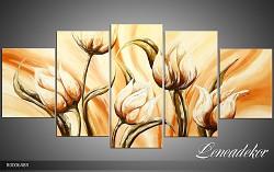 Obraz jako malovaný 5D Květy R000648R