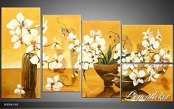 Obraz jako malovaný 5D Orchidej R000676R