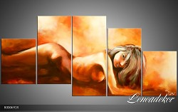 Obraz jako malovaný 5D Akt R000691R