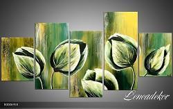 Obraz jako malovaný 5D Květy R000695R