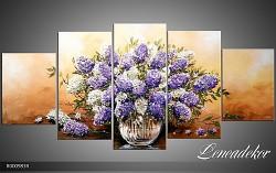 Obraz jako malovaný 5D Šeříky R000983R