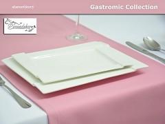 Běhoun na stůl- 10BG - sytá růžová