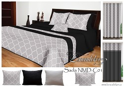 Sada přehozu na postel NMD-C01-Leneadekor.cz