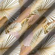 Moderní ubrus-Zlaté listy-Leneadekor