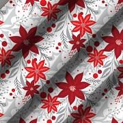 Sváteční ubrus-Vánoční hvězda-Leneadekor