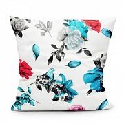 Moderní polštář-Barevné květy -Leneadekor