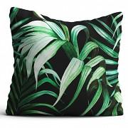 Moderní polštář-Palmové listy -Leneadekor