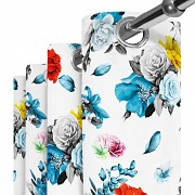 Moderní závěs-Barevné květy 140/250cm-Leneadekor