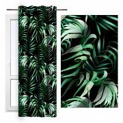 Moderní závěs-Palmové listy 140/250cm-Leneadekor