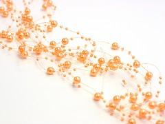 Perličky na silonu-bal. 5ks-pomerančové