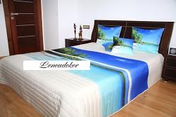 """Přehoz na postel """"3D""""-220x240cm- 38U"""