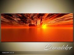 Obraz na zeď Západ slunce- Panorama F000249