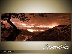 Obraz na zeď-krajina- Panorama F000607