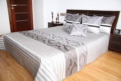 Luxusní přehoz na postel 36G rozměry š.170cmx d.210cm(včetně 2ks povlaků na polštář 50x60cm)