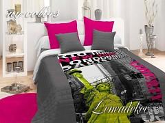 Přehoz na postel i sofa NY-colours