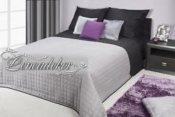 Přehoz na postel prošívaný NG1 170x210cm šedo-černý
