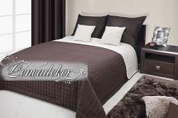 Přehoz na postel prošívaný NG3 170x210cm krémovo-hnědý