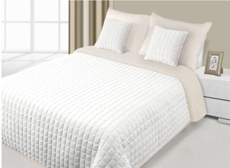 33b8f95eaf23 Přehoz na postel Eva 170x210cm krémová-kakaová skladem -Leneadekor ...
