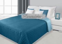 Přehoz na postel prošívaný NG10 170x210cm modrá-tyrkysová