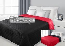 Přehoz na postel prošívaný NG12 170x210cm červená-černá