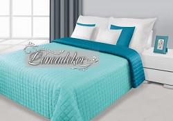 Přehoz na postel prošívaný NG17 170x210cm mátová-tyrkysová