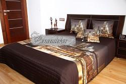 """Přehoz na postel """"3D"""" s motivem New York -220x240cm- 38O"""