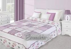 Přehoz na postel fialový NAK23