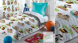 Přehoz na postel i sofa Funky 140x200cm