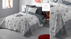 Přehoz na postel i sofa CHALET GREY