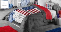 Přehoz na postel i sofa UNITED