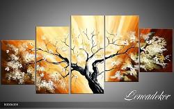 Obraz jako malovaný 5D Strom R000600R