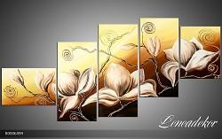 Obraz jako malovaný 5D Květy R000649R