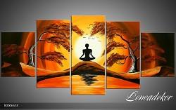 Obraz jako malovaný 5D Západ slunce R000663R