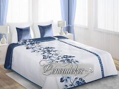 Přehoz oboustranný OPNO227 170x210cm modrý,bílý