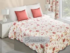 Přehoz na postel s květy NAR4