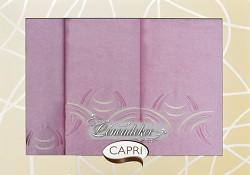 Dárková sada ručníků růžová 3RC18c Capri 3-dílný