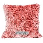 Dekorační polštář 40x40cm SHAGGY růžový světlý-povlak