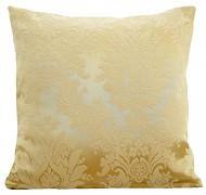 Dekorační polštář 40x40cm zlatý s ornamentem