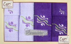 Sada ručníků RC653 6ti dílná