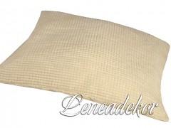 Dekorativní povlak na polštářek MANCHESTER imitace-smetanový