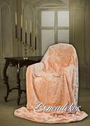 Luxusní deka akrylová broskvová