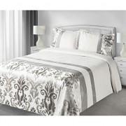 Luxusní přehoz na postel BETTY šedý