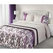 Luxusní přehoz na postel BETTY fialový
