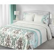 Luxusní přehoz na postel BETTY mátový